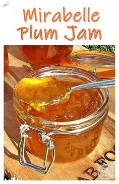 Mirabelle Plum Jam has a beautiful flavour similar to apricot jam so is perfect as a breakfast preserve. This no added pectin recipe is easy to follow as I take you through every step in detail! #mirabelleplumrecipe #mirabelleplumjam #mirabelleplumjamnopectin #mirabellenmarmelade #mirabellenmarmeladerezepte #plumjam #mirabelleplum Plum Recipes, Jelly Recipes, Vegan Recipes Easy, Brunch Recipes, New Recipes, Sweet Recipes, Breakfast Recipes, Family Recipes, Amazing Recipes