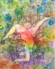 Rainbow Yogi - inspired by @nolatrees  prints available soon ;) there are more Dana inspired yogi artworks and other colourful things at http://ift.tt/21lyNtO ( link in bio x)  #LOVE #YOURSELF you are worth it !! #art #artofkundalini by arna_baartz