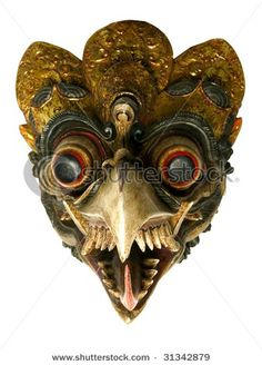 tribal face masks | ... boards, carnival cruise lines carnivale 1981, 2 piece halloween masks