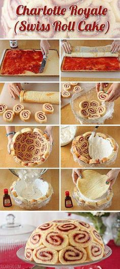 Diy dôme en gâteau roulé... ...