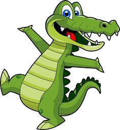 Crocodile clipart printable - pin to your gallery. Explore what was found for the crocodile clipart printable 2 Clipart, Free Clipart Images, Crocodile Animal, Crocodile Cartoon, Baby Alligator, Alligator Crafts, Inkscape Tutorials, 1970s Cartoons, Cute Babies