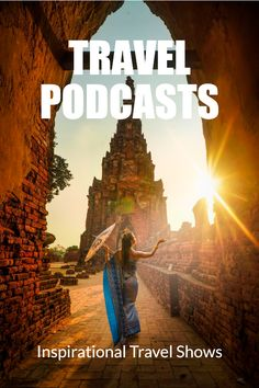 Inspirational travel podcast shows and episodes. These shows will give you wanderlust. Get destination reports, insider guides, and travel inspiration for long-haul flights, bus journeys, and airports. The best travel podcasts for Travel Humor, Long Haul, Travel Kits, Digital Nomad, Travel Images, Travel Guides, Travel Inspiration, Traveling By Yourself, Travel Photography