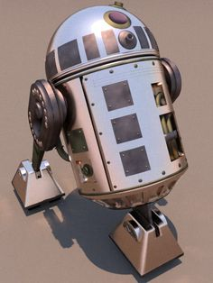 R2D2 Steam Prototype by ark4n on deviantART