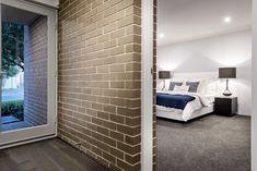 #entry #internalbrick #featurebrick #brickwall #masterbedroom #bedroom #frontdoor