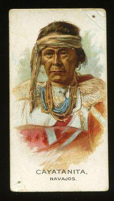 N2 Allen Ginter Indian Chiefs Cyatanita | eBay