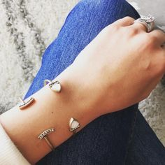 🆕 Statement Cuff Looks and feels great on the arm too. Hypoallergenic, nickel/lead free. Choose your favorite style or get both to rock this stackable everyday style. Both are slightly larger than photo. Ocean Jewelers Jewelry