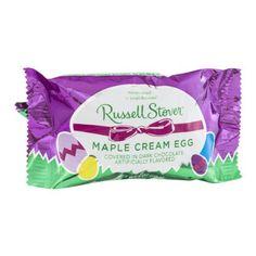 Russell Stover Maple Cream Egg in Dark Chocolate - http://bestchocolateshop.com/russell-stover-maple-cream-egg-in-dark-chocolate/