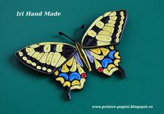 kiddo's blog: Papilio Machaon, quilled version