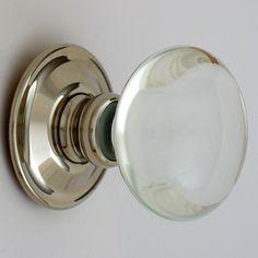 classic glass door knob