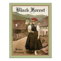 Poster de viagens do vintage do ~ de Alemanha do ~ por VintageFactory
