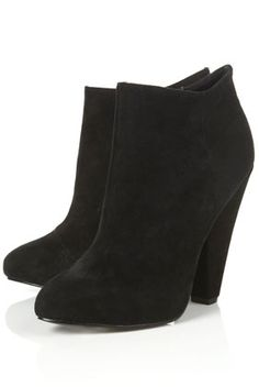 ADORE Black Suede Ankle Boots - StyleSays