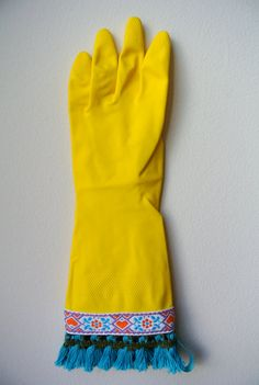 Designer Garden Gloves As seen in Better Homes and by katgallery
