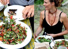 Fattoush Salad with Za'atar