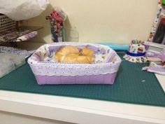 Dinha ateliê patchwork: Medidas do porta pão