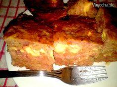 Haruľa s mäsom a syrom (fotorecept) - Recept