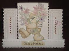 Happy Birthday   docrafts.com Homemade Cards, I Card, Happy Birthday, Projects, Inspiration, Happy Brithday, Log Projects, Biblical Inspiration, Blue Prints