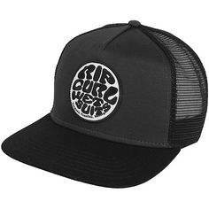 151b4a36e6c Click Image Above To Purchase  Rip Curl Wetty Trucker Hat - Black Curls