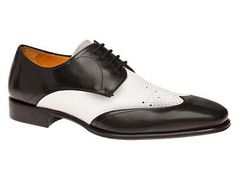 """3/"""" Black /& WHITE Spectator Wing-Tip MARY JANE HEELS//Cuban//DRAG QUEEN// Size 13"""
