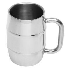 Metal Mini Keg Mug