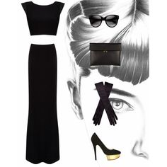 """AudreyHepburn"" by yoyomelody on Polyvore"