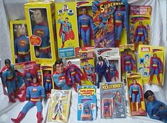 Superman Toy Collection