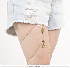 Leg Chain #acessórios #new #novidade #lançamento #legchain #chain #bijoux #verão #estilo #boho #gipsy #shop #lnl #looknowlook