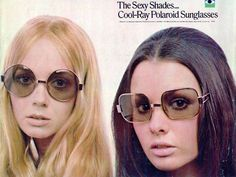 polaroid sunglasses advertisement 1970s