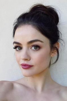 Lucy Hale just debuted a new chopped, short hair style to promote the upcoming season of her TV show Pretty Little Liars