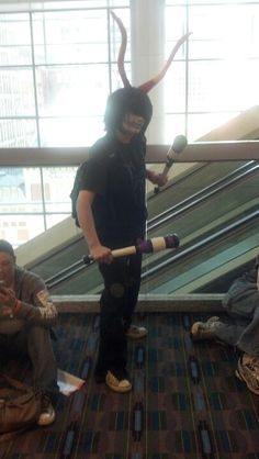 Homestuck cosplay was represented at Wizard World Comic Con, though not as prevalently as at anime conventions