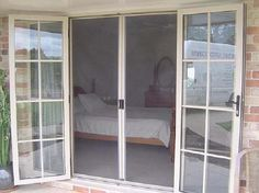 Retractable Door Screens For French, Entry, And Sliding Doors | Double French  Doors, Decking And Screens