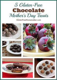 5 Gluten-Free Chocolate Treats for Mother's Day | The Gluten-Free Homemaker