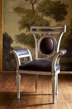Lucien Arm Chair from Collection Ten Dinning Chairs, Old Chairs, Easy Chairs, Art Nouveau, Art Deco Furniture, Furniture Design, Marble Furniture, Sofa Chair, Armchair