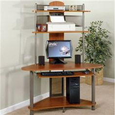 very small corner computer desk - Very Small Corner Computer Desk - Desk Wall Art Ideas, desk very small desk small corner desk with drawers very small Small Corner Desk, Corner Desk With Hutch, Desks For Small Spaces, Room Corner, Corner Table, Home Office Design, Home Office Decor, Home Decor, Office Ideas