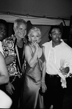 Madonna at Gianni Versace party 1994