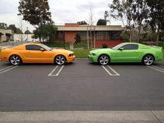 Love at first site. Both tinted with FormulaOne window film at Tint Plus.