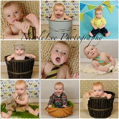 6+Month+Boy+Photo+Ideas | NicoleLee Photography: Chase's Faces! {Maine Baby Photographer}