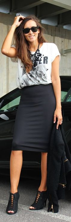 Pencil Skirts by Coohuco