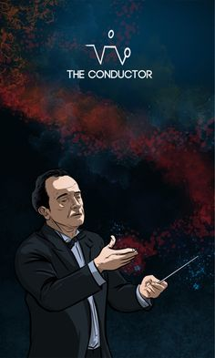 The Conductor from The Forty Servants - Adventures in Woo Woo Wicca, Magick, Witchcraft, Conductors, Tarot Cards, Occult, Mythology, Mandala, Adventure