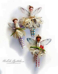 Fairy Clothespin Dolls