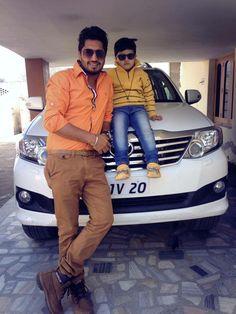 JG vid his bhanja Jassi Gill, Swag Boys, Neha Kakkar, Super Star, Celebs, Celebrities, Cute Boys, Bobby, Singers