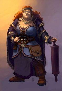 дварфийская женщина