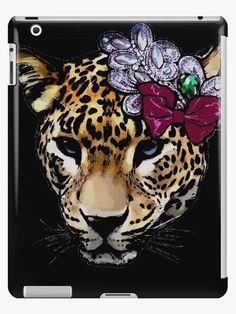 « Léopard - Cheetah - félin » par LEAROCHE Ipad, Telephone, Cheetah, Wreaths, Iphone, Halloween, Decor, Decoration, Phones