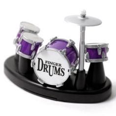 Ha! Finger drums.