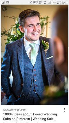 931374ce73 2017 Latest Coat Pant Designs Navy Blue Tweed Wedding Suits for Men Blazer  Custom Terno Slim Fit 3 Piece Groom Tuxedo Masculino
