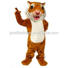 Show school spirit with Big Cat Tiger Mascot Costume. Super affordable Tiger Mascot Uniform is comfortable and easy to wear. Tiger Mascot Costume is great Smee Costume, Cruella Costume, Beetlejuice Costume, Comic Costume, Superman Costumes, Maleficient Costume, Big Cats, Cool Cats, Sebastian Costume