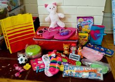Ideas on what to pack in Operation Christmas Child shoebox gifts.