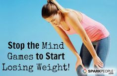 5 Mind Games You Need to Stop Playing | via @SparkPeople