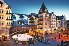 The Arrabelle at Vail Square: one of Frommer's 10 Best Ski Lodges in the U.S., and less than an hour from us!