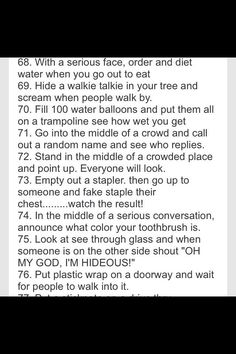 100 things to do with your bestfriend