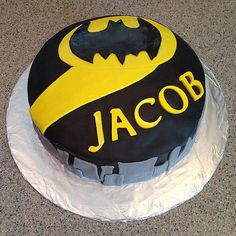 The Bat Signal | 65 of the Very Best Cake Ideas For Your Birthday Boy | POPSUGAR Moms